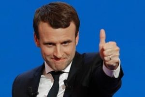 Emmanuel Macron, the youngest French President.
