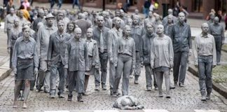 Here is a sample photo of how G20 Protests Turn German City into Zombie Town