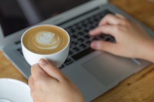 A picture showing that you can always turn blogging into fun with a cup of nice coffee! Top 5 Things you must know before Starting a Blog will help you create a road map!