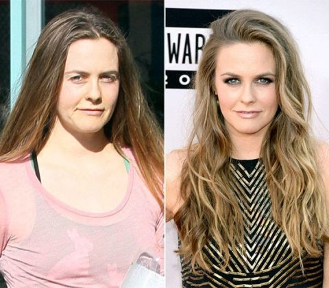 Alicia Silverstone without MakeUp