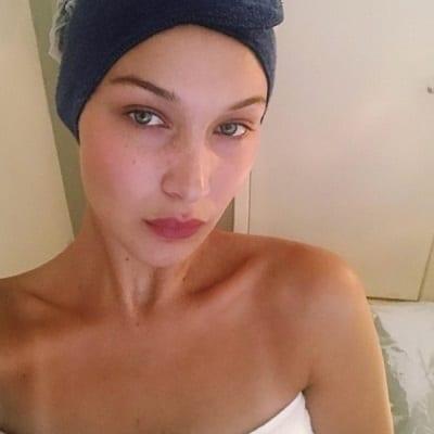Bella Hadid No Makeup