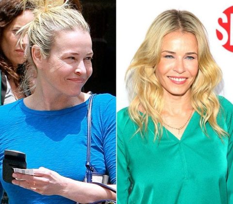 Chelsea Handler without MakeUp