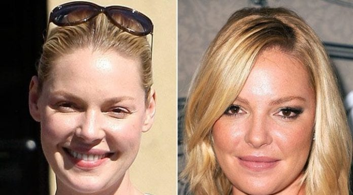 Shocking Pictures of Celebrities without Makeup