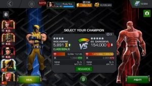Marvel Contest of Champions Character Classes and Their Advantage