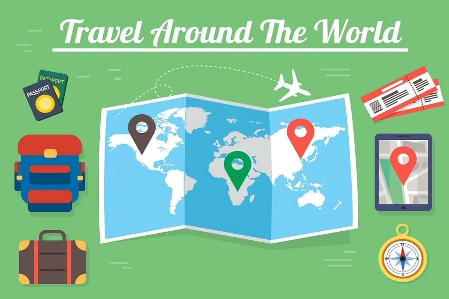 Is It Possible to Travel Around the World for Free?